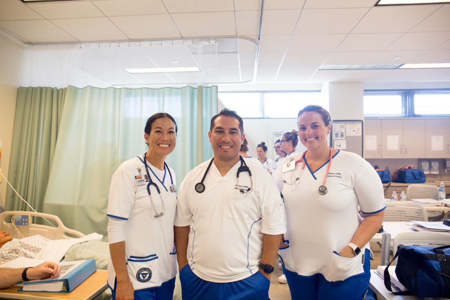 Ventura College Nursing Students