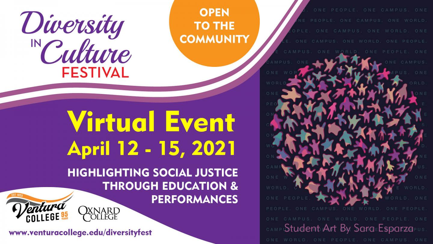 Diversity in Culture Festival Virtual Event