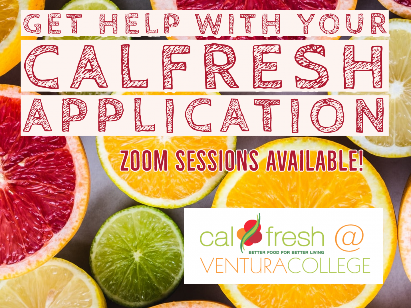 CalFresh Application Assistance Available