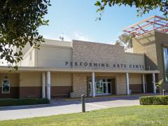 Performing Arts Center front entry