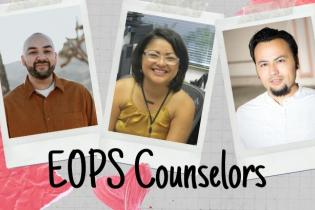 EOPS Counselors Kenya, Danny and Luis