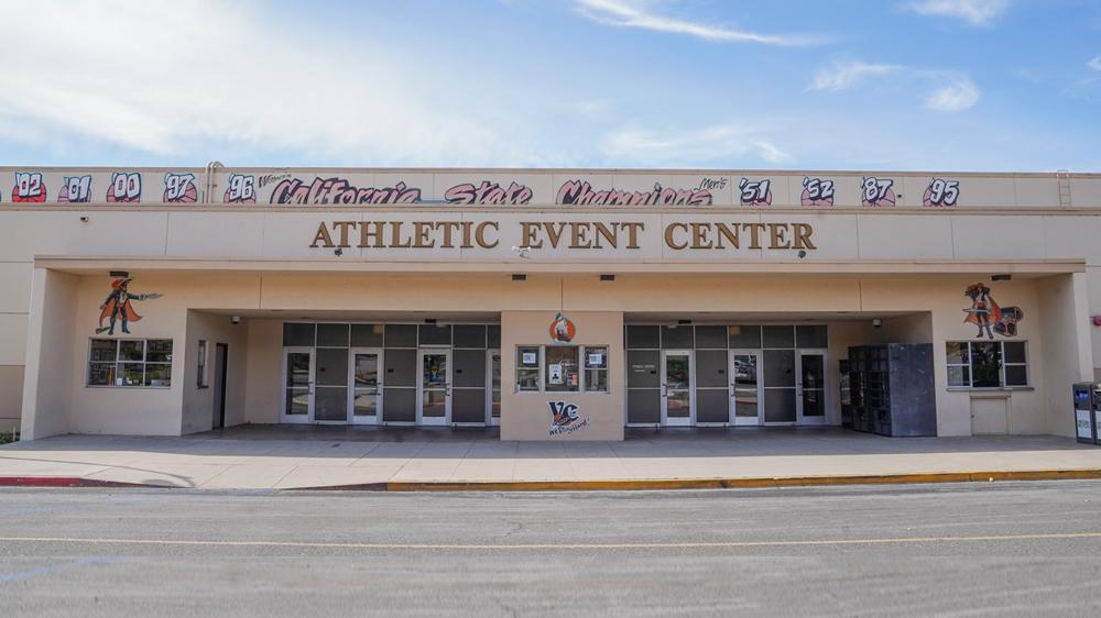 athletic event center building