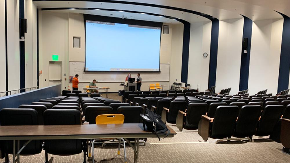 Applied Science Center lecture hall
