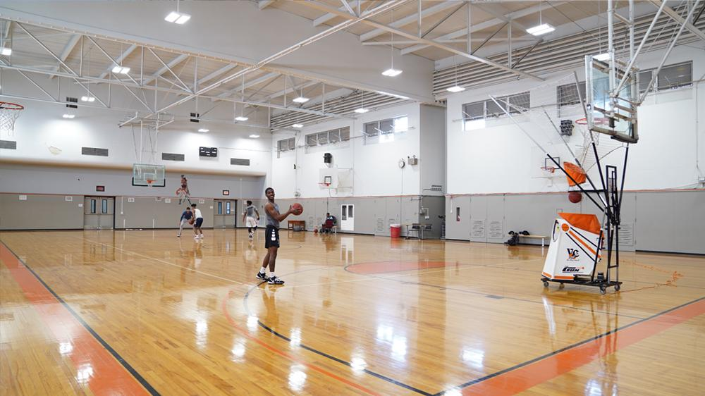 small gym courts
